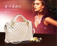 2014 European and American fashion handbags genuine premium women's shoulder bag hand bag classic Lingge