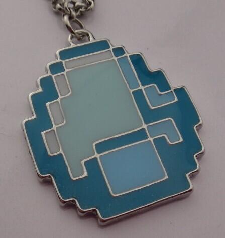 Sandbox Game Minecraft Creeper Lanyards JJ Monster Pendant Necklace(China (Mainland))