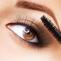 50pcs Free Shipping Disposable Eyelash Black Mascara Wand Applicator makeup brushes