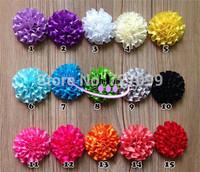 2 inch Carnation Ribbon Flower DIY Garment Bow Satin Bow Mix Color 100pcs/Lot