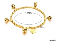 FREE SHIPPING 18K gold jewelry wholesale fine jewelry bracelet Ms. Bell Wholesale and retail