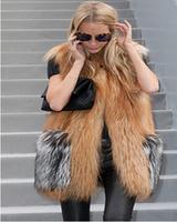 New Fashion 2014 Imitation fur vest Winter Sleeveless Warm Women Faux Fur Vest Woman Clothes Waistcoat Jacket women vest E 74