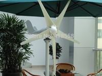 700w wind generator system wind  turbine 12V OR 24V with solar wind hybrid Controller 300W mono solar panel