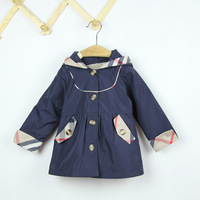 Retail Girl Clothes Spring-Autumn coats and jackets Fit 2-6Y children 1pc free shipping