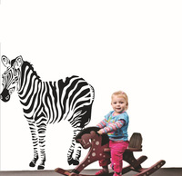 [Stay With You]Zebra vinyl matte home decor wall decal sticker free shipping