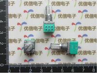 (Duplex 6Pin)Audio/power amplifier/Seal potentiometer B50K hand shank length 15MM (match nut) ,free shipping
