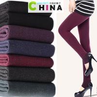 2014 Winter New Hot Very Warm Leggings Womens Fashion Sexy Casual High Waist Pants Women Wholesale Plus Size Pencil Pants