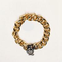 new 2014 fashion punk gold plated letter bracelet bangles for women