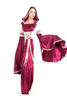 Cosplay Lolita Gothic Renaissance Medieval Costume Mythic long Dress Court costume Halloween princess party game luxury clothing
