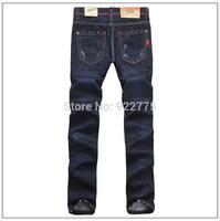 28-36#KPDSQ559,2014 Fashion Famous Brand D2 Jeans Men,High Quality Ripped Jeans For Men,Dark Color Cotton Denim True Jeans Men