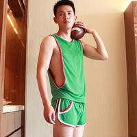 2014 sleeveless breathable sports casual vest male sports fashion basic undershirt vest male vest