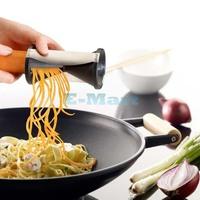 Vegetable Spiral Slicer Spirelli Kitchen Spiralizer Julienne Cutter Mandolin Free Shipping