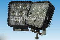 35W Square super bright waterproof IP68 offroad light 12V 24V 9V-32V DC WORK LIGHT