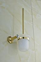 Diamond Design High Quality Glod Finishing  Bathroom Accessories Toilet Brush Holder  Bathroom Toilet Brush  B-GT.105