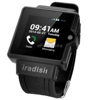 Original I6 Android 4.0, 1.54 inch MTK6577 Dual Core Smart watch Phone,RAM:512MB ROM:4GB,Wifi & GPS, GSM Network (WFI-SMW-I6-W)