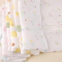 free shipping 50pcs/lot 31*31cm Natural cotton Soft Infant Handkerchief baby face towel Washcloth