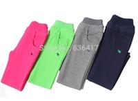 Hot sale high quality childrens pants/full length girls pants leggings/4 colors kids trousers/childrens boys and girls trousers