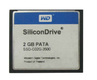 SiliconDrive Industrial Wide Temp PATA 2GB Compact Flash Card 2 GB CompactFlash I CF CARDS