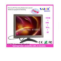 hot sale ! 10  inch cctv  monitor with  HDMIAV /VGA/BNC /audio in, for cctv camera   ,brightness of 400cd/m2