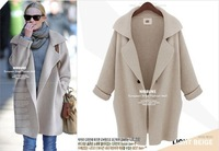 2014 autumn winter new European and American trade lady sweater coat
