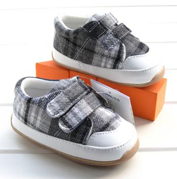 Розничная мальчик малыша туфли ребенка сначала ходунки туфли размер 12.5 см / 13.5 см / 14.5 см бесплатная доставка