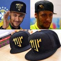 Summer 2014 brazil world cup neymar NJR caps adjustable baseball cap for men and women neymar casual visor hat snapback style