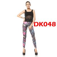 New 2014 Women Leggings Sexy Skinny Jeans Black Milk Leggings High Quality Elastic For WomenDK048
