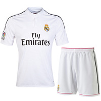 2014-2015 New high quality authentic real Madrid football club football suits