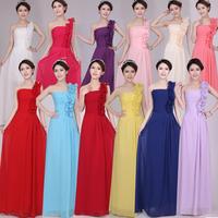 chiffon formal dress 2014 wedding bridesmaid dress long design