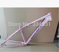 "Popular Wissco Female Lady Bicycle Frame Aluminium Alloy Mountain Bike Frames 26*15""+Freeshipping"
