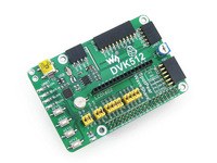 DVK512 # Raspberry Pi Model B+ Expansion/Evaluation Board with various interfaces
