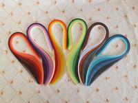 Promotion!! Mixed 36 Colors 720PCS/ Set 3mm x 54cm Quilling Paper DIY Scrapbooking Christmas Wedding decoration