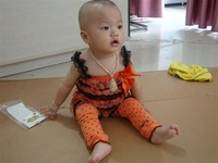 Cute Halloween lace romper, Ruffle Infant and Toddler Romper with Strap and Ribbons