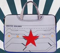 New High Quality Captain America Laptop 15-inch Zipper Laptop Liner Sleeve Bags Handbag