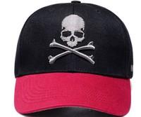 New 2014 Fashion Korean Women Skull Head Baseball Hat Hip Hop Caps Mixed Colors Bone Baseball Cap Men Sports Cap Casual Hat