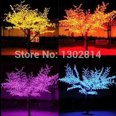 864LEDS 200cm high Led Cherry Tree lights(China (Mainland))