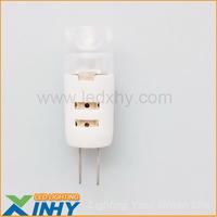 Free Shipping New Arrival 2W 10MM Ceramic G4 LED Light Bulb Lmap Capsules AC/DC12V