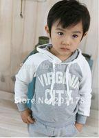 L 2014 real conjunto de roupa kids clothes sets 150free shipment new baby suit,baby sport suit,kid's suit,t shirt+pants moq 1set