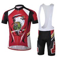 Bike Cycling Clothing Bicycle Wear Suit Short Sleeve Jersey + (Bib) Shorts S-3XL  CC1005