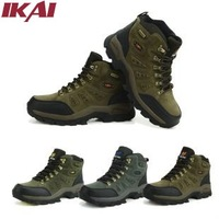 IKAI Brand Hiking Shoes Thigh-high Boots Free Shipping Unisex High Quality Outdoor Slip-Resistant Climbing Sport Shoes XMJ006-5