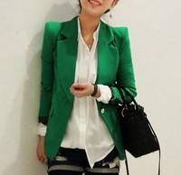 2014 New Shrug Shoulders Long-sleeved Spring and Autumn Female Blazer