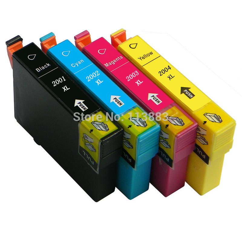T2001 XL 2004 ink cartridge 4color For EPSON XP 100 XP 200 XP 300 XP 310