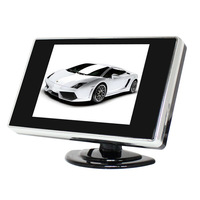 """3.5"""" Foldable TFT Color LCD Car Reverse Rearview 3.5 inch car Monitor for Camera DVD VCD camera 12V"""