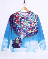 811 stereoscopic 3D creative fashion personality Harajuku sweater men coat
