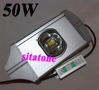 free shipping 12V 24V AC85-265V 50W led street light IP67 Bridgelux 130lm/W chips led streetlight 3 year warranty
