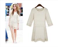 Ypzf 2014 fashion women's all-match slimming street female slim one-piece dress