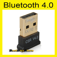 USB Bluetooth 4.0 Low Energy Micro Adapter with CSR8510 Controller and CSR Harmony for Windows XP Vista 2003 2008 Win 7, DS-2