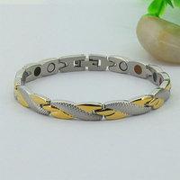 Free Shipping 38 jewelry brand statement men's 18k gold filled bracelet