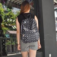 2014 Fashion Women MEN Plaid Bags Japan Design Backpack School Backpacks for Girl Boy,Travel Bags BAO BAO ISSEY MIYAKE BG091