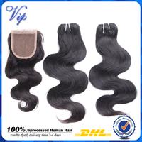 virgin malaysian hair bundles with closure 4pcs lot rosa hair products malaysian body wave virgin hair with 4x4 lace top closure